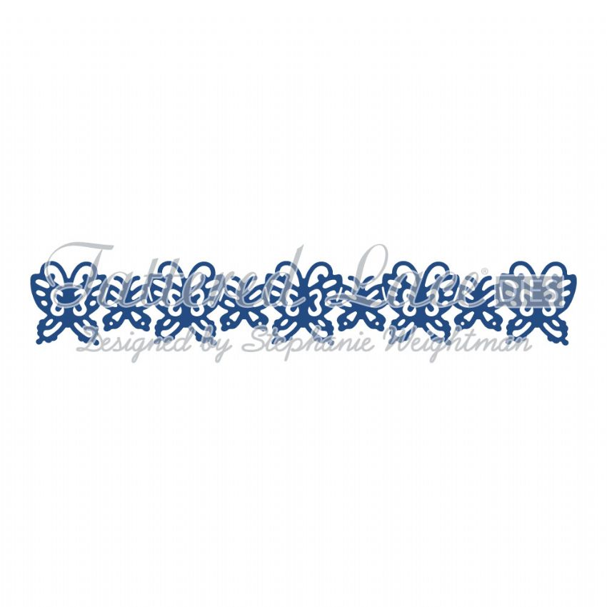 Tattered Lace Die Butterflies Border - D646